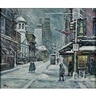 Philip Corley, Bleecker St., the Village, NYC in Winter