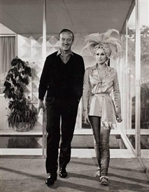 Artwork by Sam Shaw, 'Ursula Andress and David Niven, from Casino Royale', Made of gelatin silver print