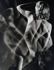Artwork by Emery P. Revesz-Biro, 'Nude Study', Made of gelatin silver print