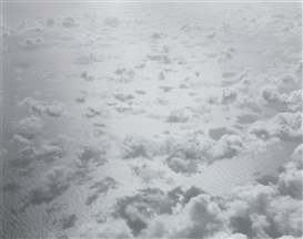 Artwork by Tom Sandberg, Untitled (Clouds), Made of silver gelatin print