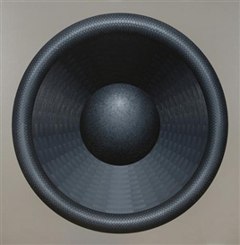 Artwork by Kaido Ole, The Band (Loudspeaker), Made of oil and acrylic on canvas
