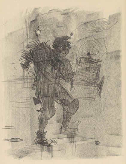 de Toulouse-Lautrec Henri | Ballade de Noël (1895) | MutualArt