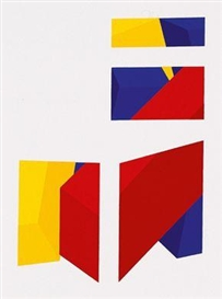 Artwork by Roland Goeschl, Chair Picture II, Made of Colour screenprint