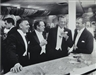 Slim Aarons, Kings of Hollywood: Clark Gable, Van Heflin, Gary Cooper, James Stewart, enjoy a joke at a New York Party at Romanoff's, Los Angeles, 1957