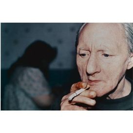 Artwork by Richard Billingham, Untitled, Made of Fuji longlife colour photograph print laid on aluminium