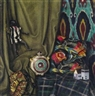 Alfred Waagner, Still Life with Fabric, Black Doll and Bottle