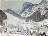 """Ernst Huber, """"Semmering Landscape"""""""
