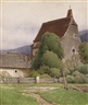 "Ferdinand Brunner, ""Village Church"""