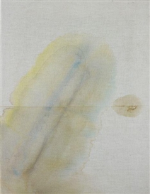 Artwork by Sergej Jensen, Untitled, Made of Gouache on linen
