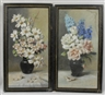 Mae Bennett Brown, 2 WORKS: FLORAL STILL LIFE