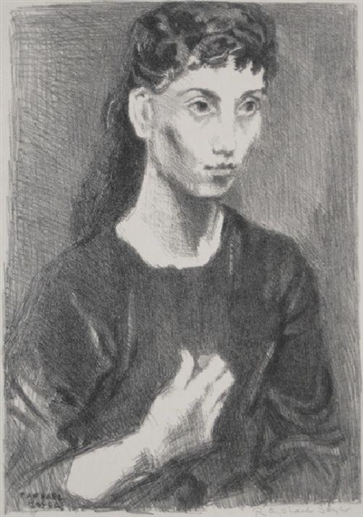 girl at doorway by raphael soyer essay The files that document the completion of the project m/m raphael, 1954-57 recommendation letters doorway four photographs of main salon.