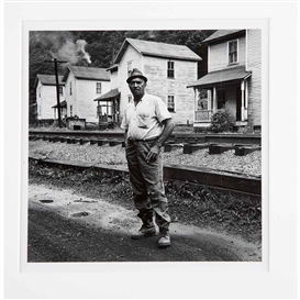 Artwork by Milton Rogovin, 2 Works: Appalachia #3 1962-71 ; LWS 92-4, Made of Silver gelatin prints
