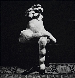 Artwork by Michiko Kon, Cabbages and Pantyhose, 1985, Made of Gelatin silver print