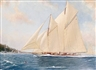 Shane Couch, 'Germania off Cowes, 1909'