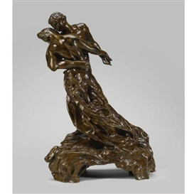 Artwork by Camille Claudel, LA VALSE, Made of Bronze
