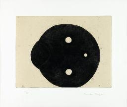 Artwork by Martin Puryear, UNTITLED, Made of Etching and chine collé on wove paper