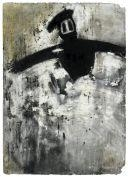 Artwork by Joyce Pensato, UNTITLED, Made of Charcoal on paper