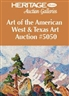 Signature Art of the American West & Texas Auction  - Heritage Auction Galleries, Dallas