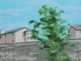 Tomory Dodge, Houses with Tree