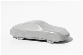 Artwork by Gottfried Bechtold, Betonporsche, Made of concrete