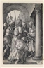 Albrecht Dürer, Christ before Pontius Pilate (from the series of engravings Passion of Christ)