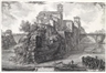Giovanni Battista Piranesi, A view of Tiber island (Veduta dell'Isola Tiberina)