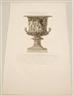 Giovanni Battista Piranesi, 2 Works: A Candelabrum ; A Marble Vase