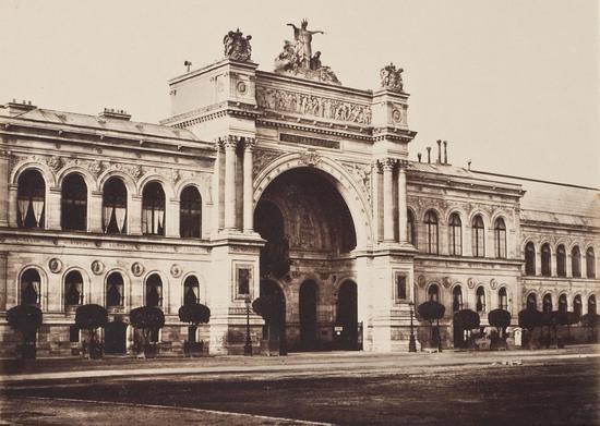 Baldus douard denis palais de l 39 industrie paris circa 1855 mutualart - Salon de l industrie paris ...