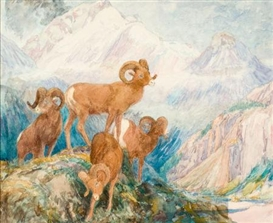 Alexander Phimister Proctor, Big Horn Mountain Sheep