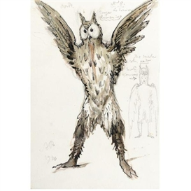 Alexandre Nikolaïevitch Benois, Costume Design for Von Rothbart as an Owl