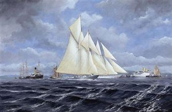 A busy day on the Clyde By John J. Holmes