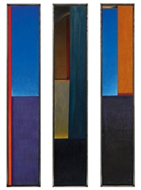 Artwork by Eduard Angeli, Triptychon, Made of Oil on canvas