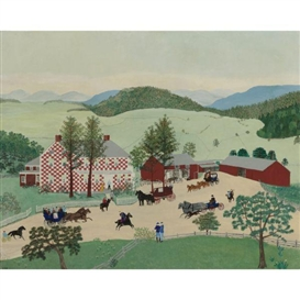 Grandma Moses, The Old Checkered House