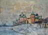 Konstantin Gorbatov, View of a Monastery