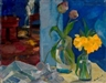 Boris Anisfeld, Still Life in the Blue Room