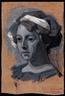 Alexander Konstantinovich Bogomazov, Portrait of Vanda Monastyrskaya