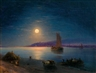 Ivan Aivazovsky, Moonlit Night on the Dnieper