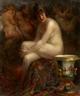 Vitali Gavrilovich Tichov, Nude with a Rubens Painting