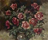 Georges Lapchine, Roses in a Vase