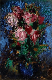 Artwork by Paul Roelof Citroën, Roses, Made of Oil on canvas