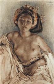 Willem Gerard Hofker, Balinese Beauty