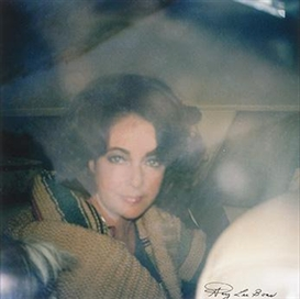 Artwork by Gary Lee Boas, Elizabeth Taylor, Made of Photograph