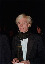 Gary Lee Boas, Andy Warhol