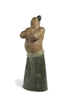 Sumo Wrestler By Michael Schilkin ,1940