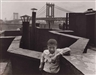 Walter Rosenblum, Boy on Roof, Pitt Street, N.Y., 1950