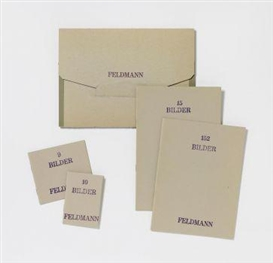 Hans-Peter Feldmann, 4 publications in artist's original envelope