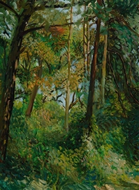 Paul Roelof Citroën, The forest near Duinrell