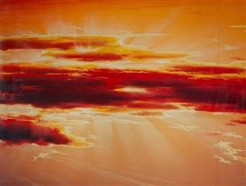 Artwork by Paul Graham, 'Rising Sun Backdrop', Made of C-print