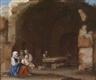 Cornelis van Poelenburgh, Female figures amidst Roman ruins