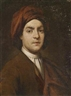 Giuseppe Ghislandi, Portrait of a gentleman in a red turban